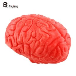 Wholesale Body Parts Props - Wholesale-Halloween Horror Props Lifesize Brain Haunted House Party Scary Trick Decorations PrankToys Body Part Organ Gift