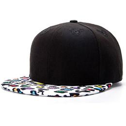 c81dca8640083 Moda ancho borde leopardo patchwork snapback cap negro liso forma agradable  directo de fábrica small order caps sombreros al por mayor