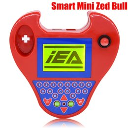Wholesale Auto Key Transponder Tool - 2017 hot Auto car key Programmer interface smart mini zed bull car transponder tool Multi-Language ZED-BULL Car kits key maker