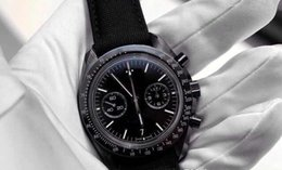 Wholesale Moon Sapphire - Wholesale - Brand New style luxury mens sports watches chronometer racing black limited quaetz watch dark side of the moon wristwatch