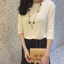 Wholesale Gate Slide - Han Guodong gates and ball Long Necklace Jewelry simple summer all-match Korea female temperament sweater chain