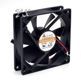 Wholesale Wonsan Fan - free shipping Original Box New FD249225EB 24V 0.27A 9025 9cm ball fan drive for Wonsan 90*90*25mm
