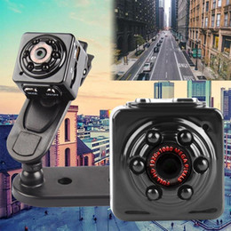 Wholesale Smallest Motion Detection Camera - Wholesale-Mini Camcorders Full HD 1080P 720P 12.0MP Smallest Sport DV Video Recorder Camera Cam DVR w  Motion Detection 6 LED Night Vision