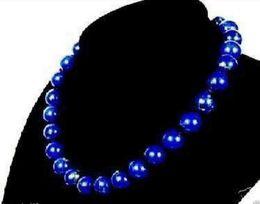 Wholesale Lapis Lazuli Pearl Necklace - Stunning!8mm Egyptian Lapis Lazuli Necklace AAA