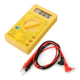 Wholesale Lcd Led Tester - Wholesale- Wholesale Price DT830D Digital LCD Voltmeter Ohmmeter Ammeter Ohm Multimeter Tester Buzzer Leads Watch Repair Tool