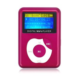 Wholesale red hot recorder - Wholesale- FreeShipping USB Digital MP3 Music Player LCD Screen Metal Support 32GB Micro SD TF Card 2015 New Hot Sale