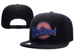 Wholesale Hat Cap Skateboard - New Hip-Hop Snapback Golf Bone Space Jam Hat Adjustable Baseball Cap Bones Strapback Bunny Trucker Cap Skateboard Hat Accept Mix Order