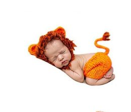 Wholesale Photo Lions - HOT lion DESIGN Kids photo clothing kids sleeping bags 10sets lot size for 0-3M cotton yarn can custom your logo