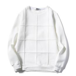 Wholesale Top Men Briefs - Spring  Autumn Men Plaid Sweatshirts Plus Size M-5XL Breathable Tops 2017 New Model Solid Color Man Brief Style Soft Clothing