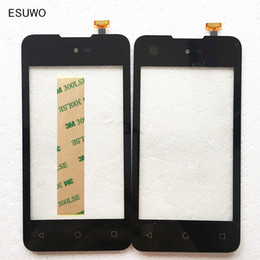 Wholesale Micromax Screen Glass - Wholesale- ESUWO New Touchscreen For Micromax Bolt D303 Touch Screen for Wiko Sunset 2 Sensor Digitizer Front Glass Touch Panel
