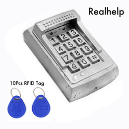 Wholesale Access Building - Metal Case RFID Reader door lock access standalone keypad system 1000Users Contactless Smart Card Access Built-in Buzzer