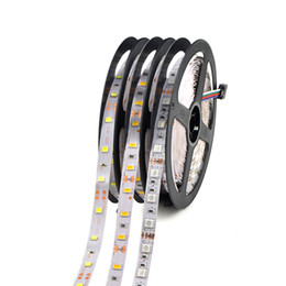 Wholesale Green Led Reel - 5050 3528 5630 Led Strips 5M 300LEDs 12V Led Strips Tape Lights 5m Reel Warm White Red Green Blue Yellow