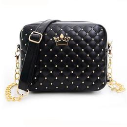 Wholesale Spain Leather - Wholesale-Female bags 2016 famous brand women shoulder bag fashion women leather handbags spain messenger bags bolsos sac femme borsa cool