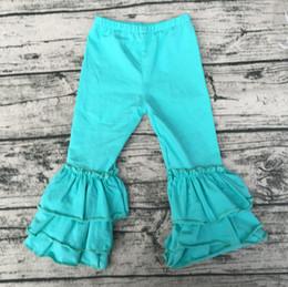 vendita calda per bambini vestiti di colore solido nuovi prodotti bambino grande volant pantaloni all'ingrosso bambini boutique di abbigliamento da vestiti all'ingrosso del bambino per la vendita fornitori