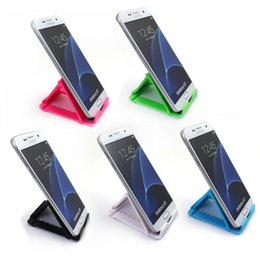 Wholesale Mobile Portable Desk - Universal holders Desk Mobile Cellphone Stand Holder Tablet Portable Smartphone phone holder for iPad iPhone Samsung Xiaomi