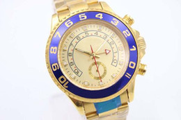 Wholesale Mens Golden Wrist Watches - 2017 new Luxury Brand Golden Dial Golden Stainless Belt Whatches Golden Populer Stainless Pointer Watch Mens Fashion Wrist Watches