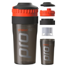 Wholesale Nutrition Powders - Wholesale- Shaker Pro 40 Whey Protein Sports nutrition blender mixer cup fitness gym Shaker For Protein Powder my water bottle 700 ml