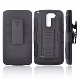 Wholesale lg g2 armor cases - For LG G5 Case 3 in 1 Future Armor Holster Belt Clip Kickstand Silicone Case For LG G2 G3 Stylus G4 K10 Cover
