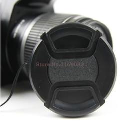 Wholesale Nex F3 - Wholesale-1 pcs 49mm Front Lens Cap for S&ny NEX-3 5 6 NEX7 NEX-F3 E18-55 18-200 16mm 24mm Free Shiping