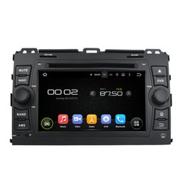 Wholesale Touch Screen Radio For Prado - Free shipping 7inch Android Car DVD player for Toyota Prado with GPS,Steering Wheel Control,Bluetooth, Radio