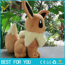 Wholesale Pokemon Christmas Plush - New hot 32cm Poke Plush toys Pikachu dolls Jolteon Umbreon Flareon Eevee Espeon Vaporeon Kids Christmas gifts