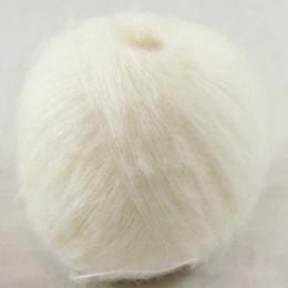 Wholesale Purple Mohair - Sale 2 balls Luxurious MOHAIR 50% Cashmere 50%silk hand Yarn Knitting B1