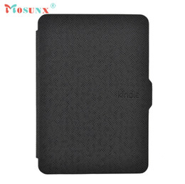 Wholesale Wholesale Auto Leather For Sale - Wholesale- Hot-sale MOSUNX Magnetic Auto Sleep Leather Cover Case For Amazon Kindle Paperwhite 1 2 3 E-Reader E-Book Gifts