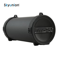 Wholesale Powerful Portable Speakers - Wholesale- Chimole New Outdoor sports Subwoofer Bluetooth Speaker Wireless 2000mAh Powerful Portable Speakers by radio FM mp3 player