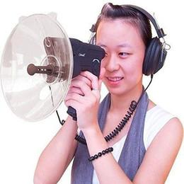 Wholesale Headphone Bird - Natural Observing Bird Animals Telescope Electronic 8x Optics Listening and Digital Recording Device Bird Watcher with Headphone