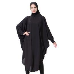 Les femmes arabes peignoirs couleur unie vêtements traditionnels islamiques convient au Moyen-Orient dames élégantes islam robes robes HS110 ? partir de fabricateur