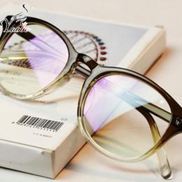 Wholesale Plain Eye Glasses For Men - Yaobo Optical Plain Mirror Full frame Student Eyeglasses Frames Women plastic Eye Glasses Frame for Myopia oculos de grau