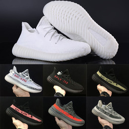 Wholesale Cheap Green Boots - With Box 2017 Cheap Wholesale Mens and Womens Running Shoes Boost 350 V2 SPLY-350 STEGRY BELUGA SOLRED Primenkit Sneakers Boosts Boots