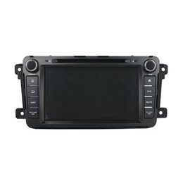 Wholesale Mazda Android Radio - Free shipping Android 5.1 Car DVD player for Mazda CX-9 with 8inch HD Screen ,GPS,Steering Wheel Control,Bluetooth, Radio