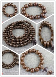 Wholesale Jade Beads For Men - 1 Wholesale gold bracelets 2 Wholesale gold bracelets 2 solid wood ebony 108 Beads Bracelet like Silkwood gift accessories for men and women