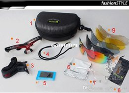 Wholesale Women Professional Wear - 5 lens Cycling Sport Sunglasses new Unisex UV400 Professional bike Glass Sunglasses Humanized Design Outdoor Bikes Eye Wear Sun glasses