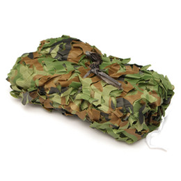 Wholesale Military Desert Camo - 3 x 5m Hunting Camping Outdoor Desert Woodlands Blinds Army Military Camouflage Camo Net Sun Shelter Jungle sun shelter