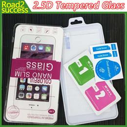 2.5d protetor de tela de vidro temperado para iphone 7 se s7 borda s6 edge plus vidro iphone 7 6 6 plus 5 4 samsung s4 s5 nota 7 2/3/4/5 new lg k7 de Fornecedores de samsung i9295