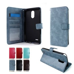 Wholesale Lg Pocket Photo - Wallet Case For iphone X 8 plus galaxy note 8 For LG stylo 3 plus metropcs Photo Frame Credit card slot