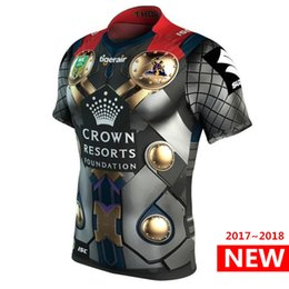 Wholesale heroes shirts - Hero version Melbourne Storm 2017 2018 Marvel Thor Jersey rugby shirt nrl Jersey rugby Jerseys NRL National Rugby League shirts s-3xl