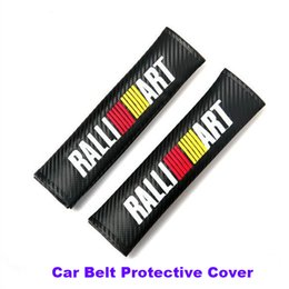 Wholesale Point Pad - Car styling Practicality 2pcs Car Seat Safety Belt Cover Belts Padding Cover For Lancer 10 9 EX Eclipse Galant outlander series