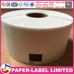 Wholesale Address Label Rolls - 20x Rolls Brother Compatible Labels dK-11208,38x 90mm,400 labels per roll,Thermal paper Sticker,dk 11208 ,dk 1208,address label