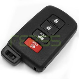 Wholesale Toyota Camry Key Buttons - New Smart Remote Key Shell Case Fob 4 Button for Toyota Camry Avalon RAV4