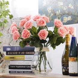 Canada Roses soie fleurs maîtresses artificielles hawaïennes bon marché fleurs mariage arch décorations bouquet lavande décor arch décorations hydrange Offre