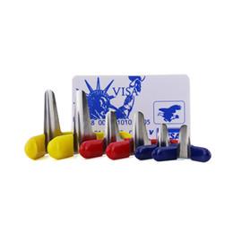 Wholesale Pcs Value - New Value Set 6PCS Padlock Shims Lock Pick Tools Locksmith + James Bond Pocket credit card lock pick set (5 pcs)