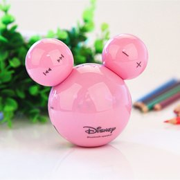 Wholesale Hot Cartoon Mp3 - Wholesale- 2016 hot Mickey head lovely paragraph cartoon mini card MP3 TF Card