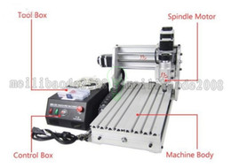 Wholesale Machine Materials - CNC 3020 T-DJ Mini Desktop Engraving Machine 2030 Drilling & Milling Carving Router For PCB Wood & Other Materials MYY