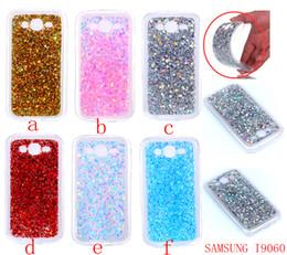 Couverture samsung grand neo en Ligne-Glitter souple en TPU pour Samsung Galaxy i9082 du Grand Duos de Grand Neo plus i9060 couverture pour Huawei NOVA Y3 II Y5 II