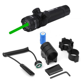 Wholesale Laser Guns Pistol - Super Power Tactical Strike Head Adjustable Laser Sight Scope with Mounts for Pistol Handgun Air Gun Rifle with Red Dot and Green Dot