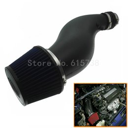 Wholesale Intake Honda Civic - NEW Black AIR INTAKE PIPE WITH AIR FILTER INTAKE PIPE FOR HONDA CIVIC 92-00 EK EG