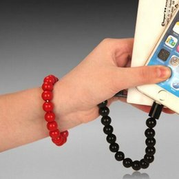 Wholesale Buddha Phone - Arts Buddha Bead Bracelet 5-pin Micro USB Charging Data Phone Cable charger Cabo Cord Wire line for Samsung HuaweI LG HTC